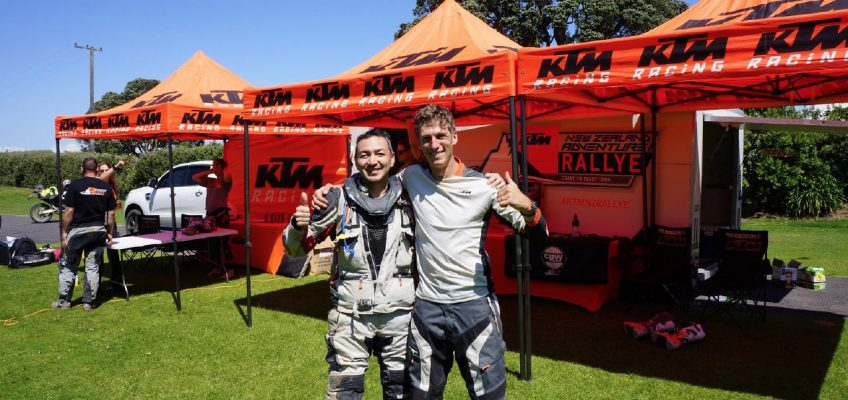 RIDER STORY: TAKA TAKES ON NEW ZEALAND ADVENTURE!