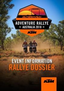 2018-KTM-AU-ADV-RALLYE-Event-Information-Dossier-Cover