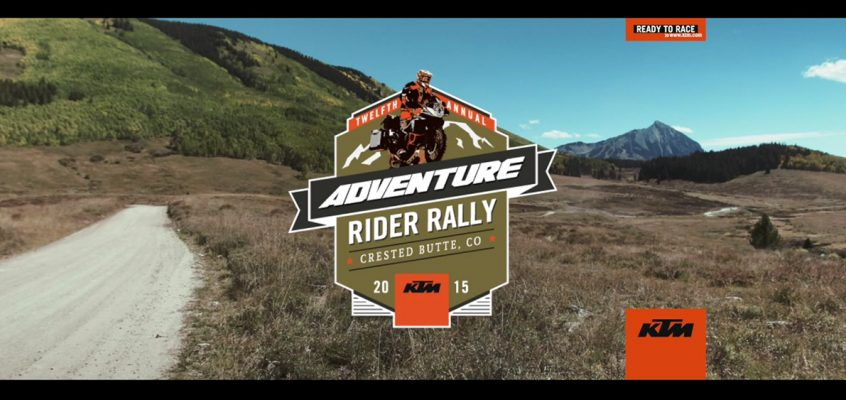 VIDEO » KTM Adventure Rider Rally in Colorado, USA