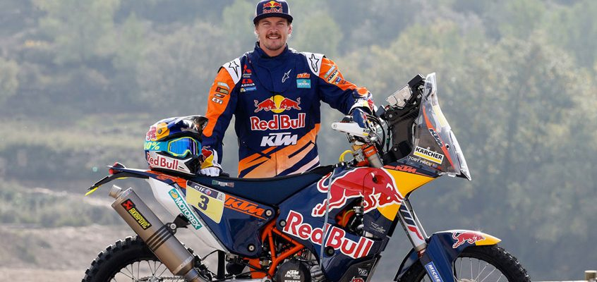 Toby Price prepared to conquer Dakar