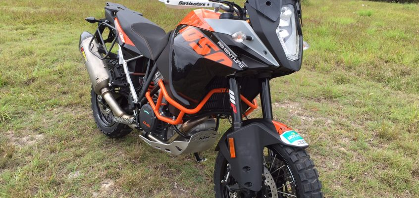 KTM Project Bike: 1050 Adventure