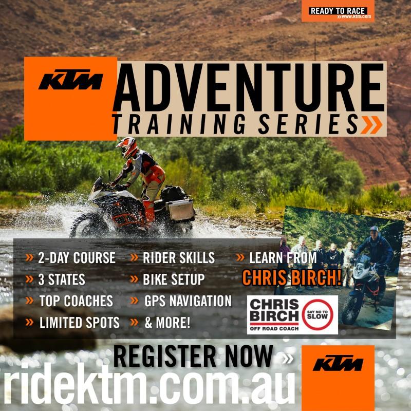 KTM Australia Adventure Training Series