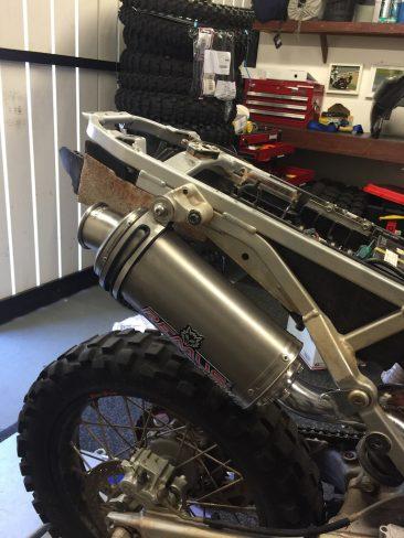 KTM 950 SE Work In Progress