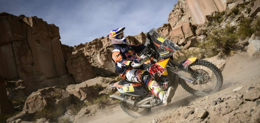 DAKAR » SOLID PERFORMANCES SEE KTM RIDERS MOVE UP IN MARATHON STAGE 4