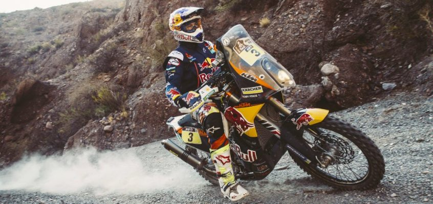 DAKAR » TOBY PRICE WINS STAGE 8, TAKES OVERALL LEAD