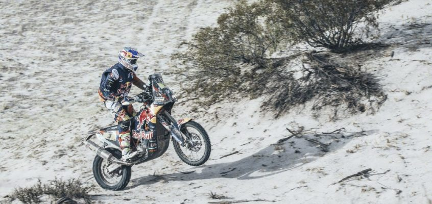 DAKAR » PRICE MAINTAINS OVERALL, SVITKO TAKES MAIDEN DAKAR STAGE WIN