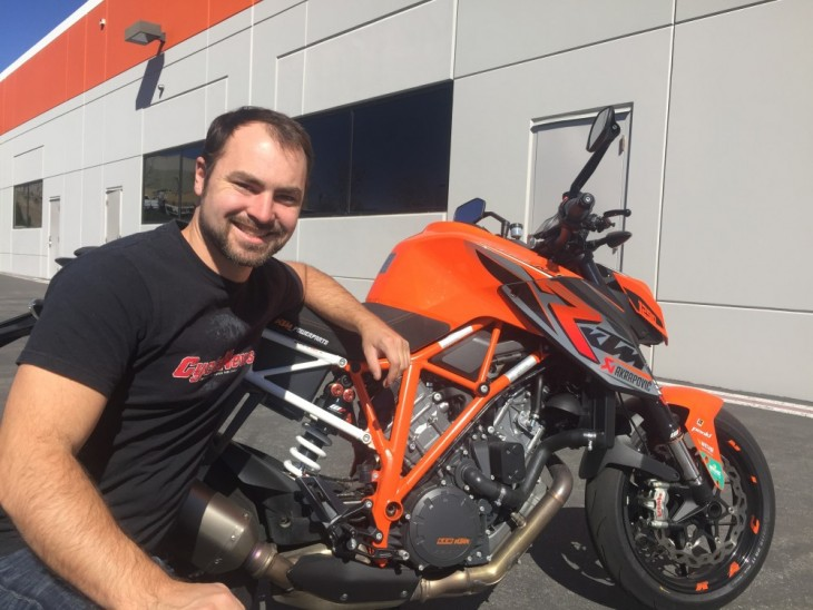 CYCLE NEWS & KTM TO TACKLE PIKES PEAK