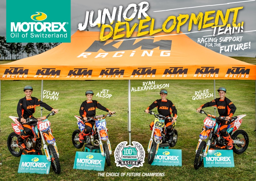 BIG EFFORT, SMALL BIKES: MEET THE MOTOREX JUNIOR DEVELOPMENT TEAM
