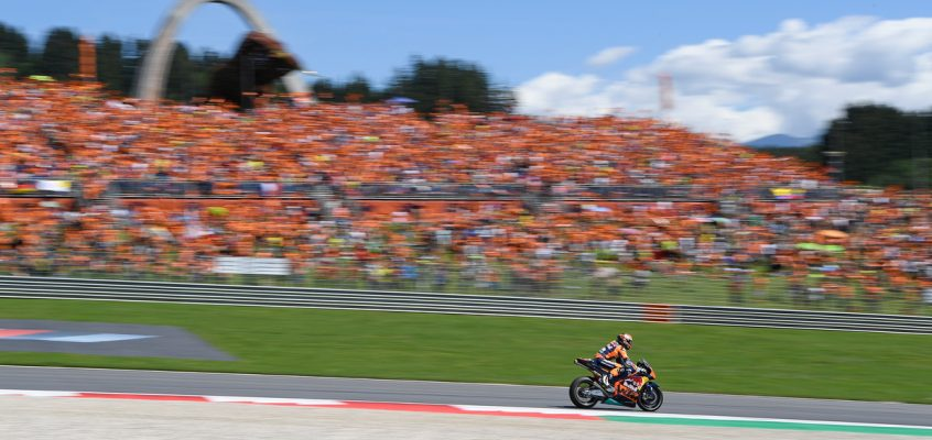 #AUSTRIANGP: BEHIND THE SCENES WITH KTM AUSTRALIA