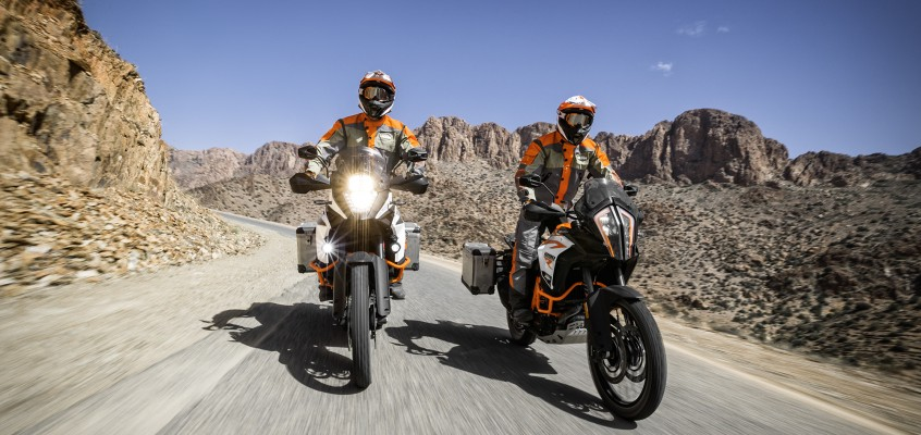 2017 KTM 1090 & 1290 ADVENTURE R: EXTREME OFFROAD ADVENTURE