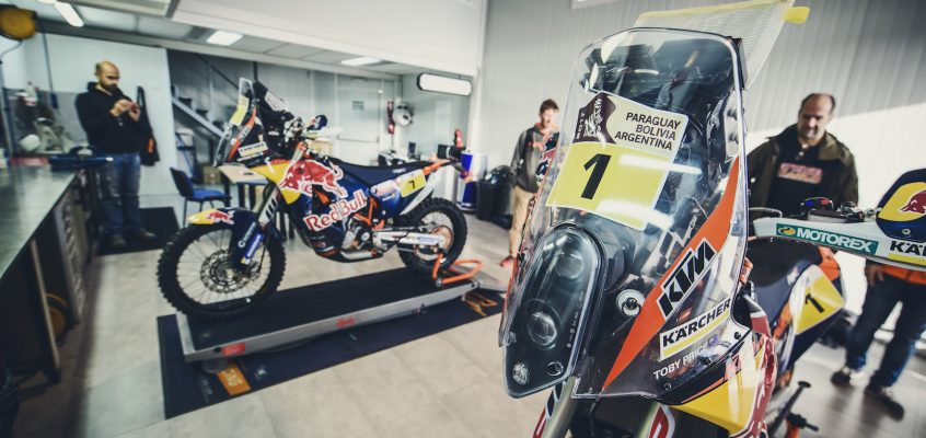 Riding KTM's Factory Rally 450