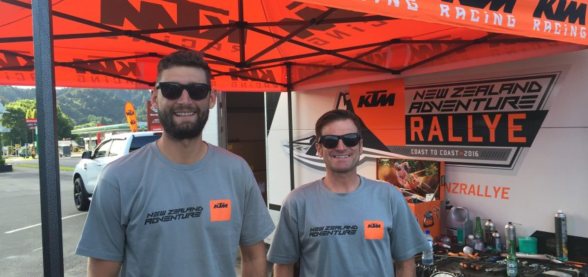 KTM NZ Rallye Rider Stories: THE YANKS