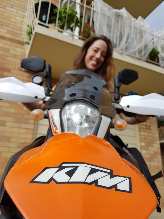 RIDER STORY: GRACE, A SELF-PROCLAIMED MOTOHOBO