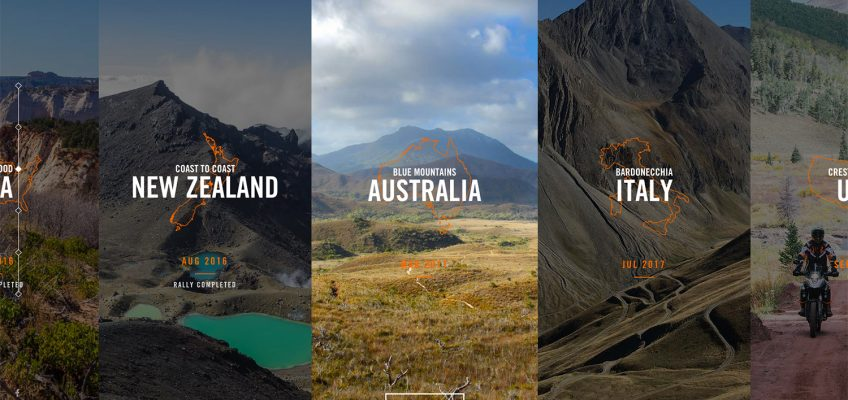 KTM ADVENTURE RALLY Worldwide Microsite Launched!