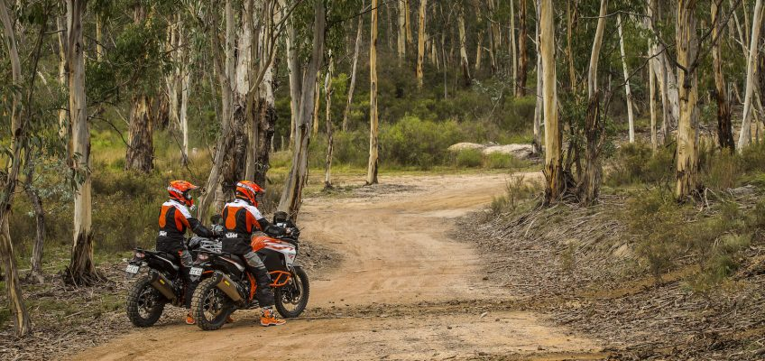 KTM's 2017 ADVENTURE RANGE: THE STRATEGY