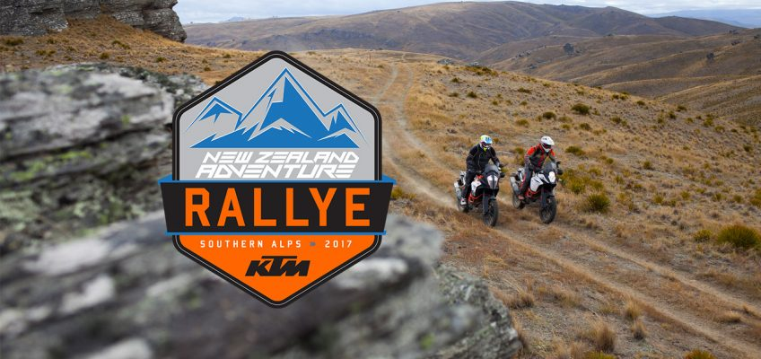 KTM New Zealand Adventure Rallye: Southern Alps 2017