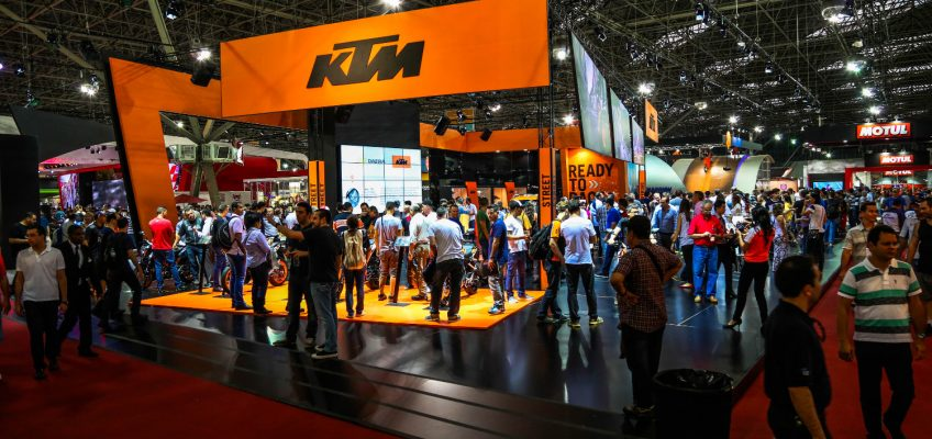 KTM at the 2017 Sydney Motorcycle Show