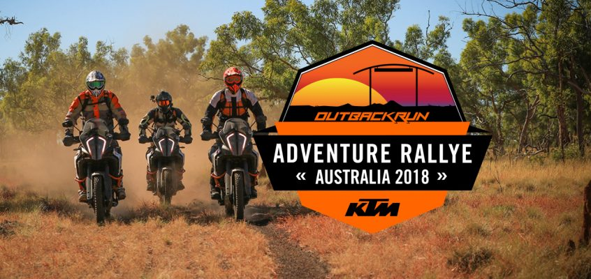 KTM AUSTRALIA ADVENTURE RALLYE: OUTBACK RUN 2018