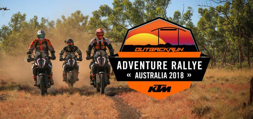 KTM AUSTRALIA ADVENTURE RALLYE: OUTBACK RUN 2018