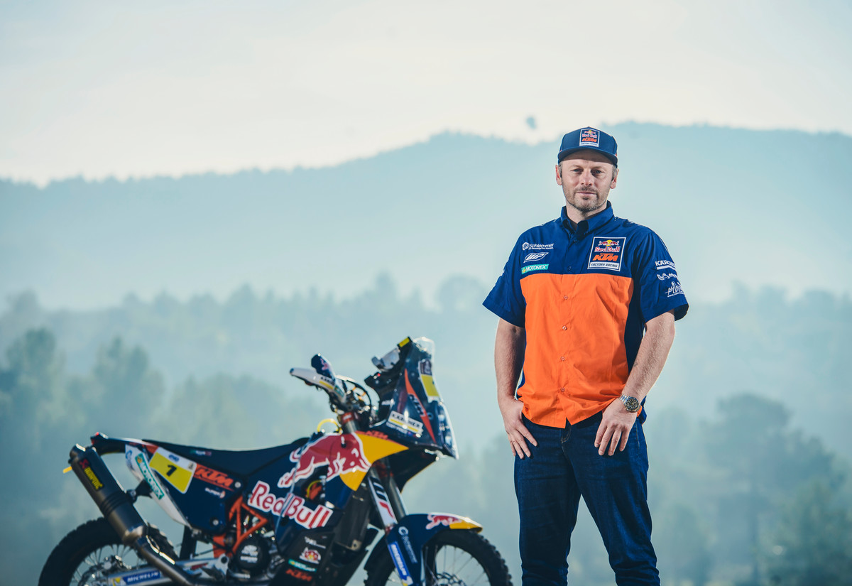 160377_Alex Doringer Toby Price KTM 450 RALLY 2016