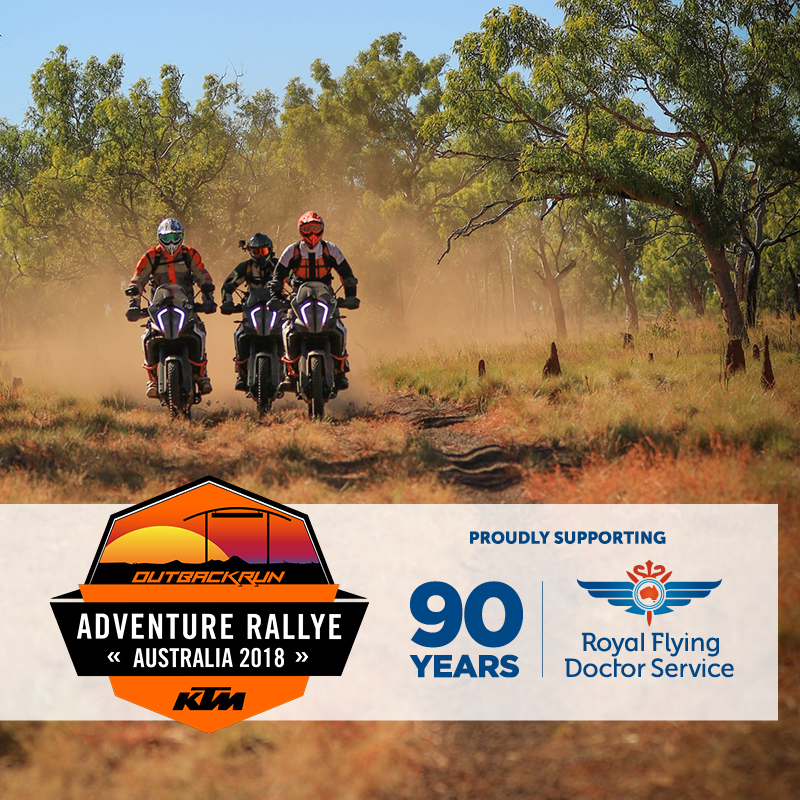 """001"" KTM RALLYE RIDER AUCTION TO SUPPORT ROYAL FLYING DOCTOR SERVICE"