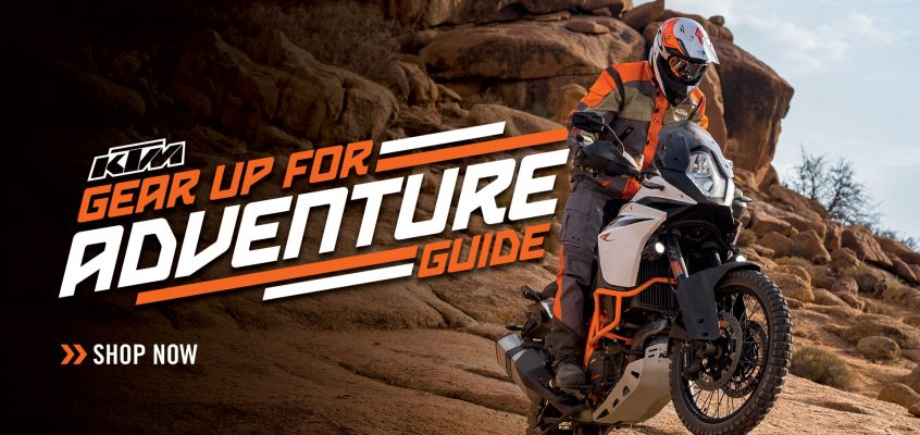 KTM GEAR UP FOR ADVENTURE GUIDE