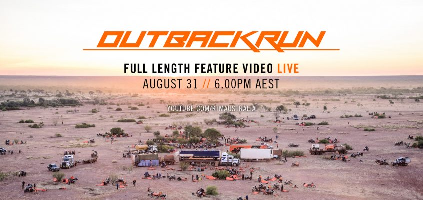 OUTBACK RUN: FULL LENGTH FEATURE VIDEO DROPS FRIDAY AUGUST 31ST!
