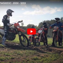 VIDEO » THE PROTEGES – KTM 50 SX, 85 SX, 500EXC