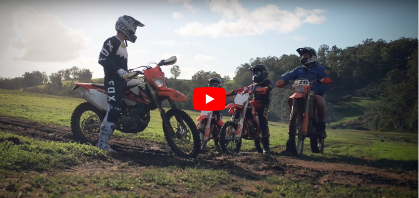 VIDEO » THE PROTEGES – KTM 50 SX, 85 SX, 500EXC