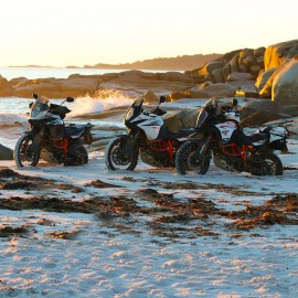 FOURTH ANNUAL KTM AUSTRALIA ADVENTURE RALLYE HITS THE APPLE ISLE