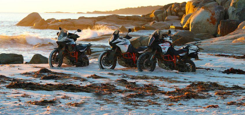 FOURTH ANNUAL KTM AUSTRALIA ADVENTURE RALLYE HITS THE APPLE ISLE