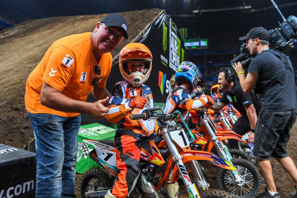 KTM Challenge 2018 SX Open - Sydney Australian Supercross Championships Qudos Bank Area / Sydney Aus Saturday Nov 10th 2018 © Sport the library/ Jeff Crow / AME