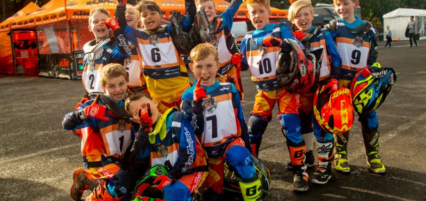 KTM KIDS ACCEPT THE SUPERCROSS CHALLENGE